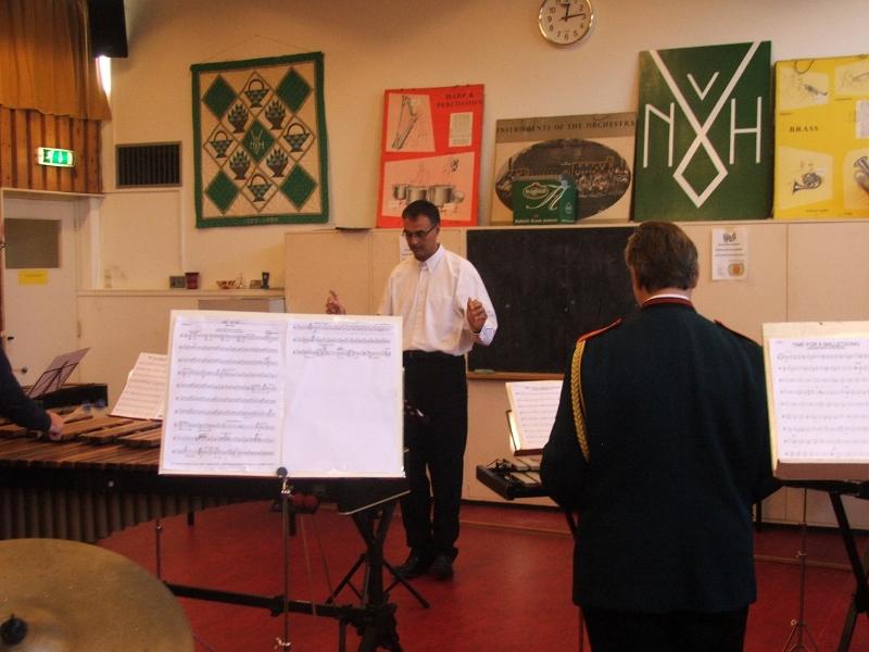Slagwerk concours Heikenszand 2004