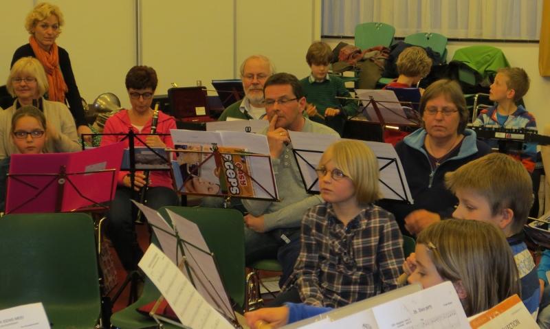 Repetitie leerlingenorkest 2013