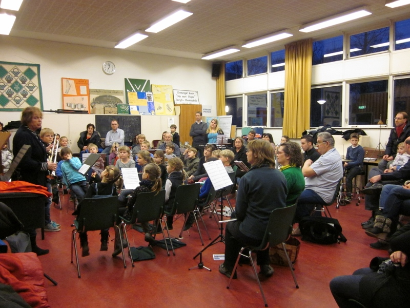 Voorspeelavond leeringenorkest 2013