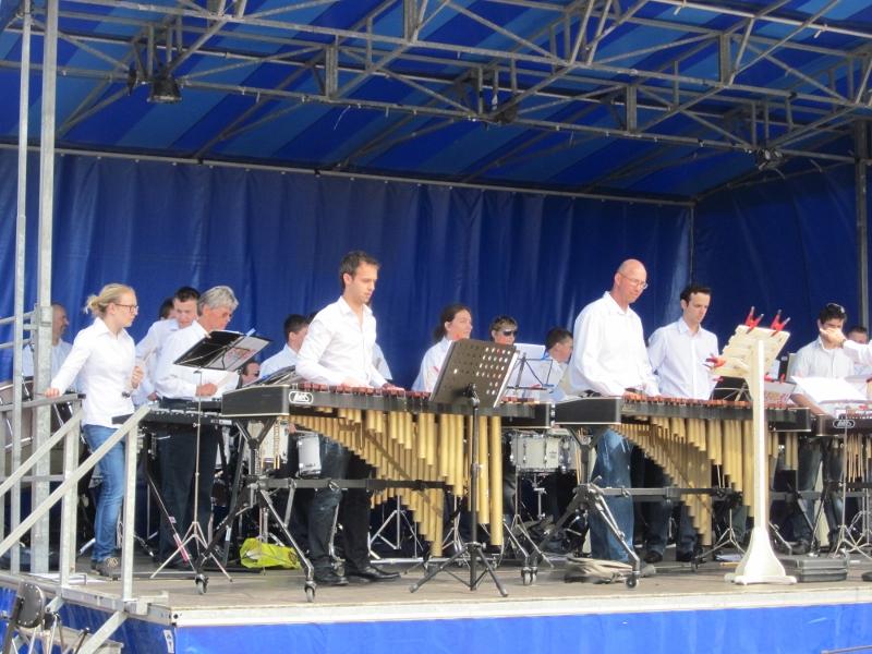 Eilandelijke muziekdag Slagwerkgroep Renesse 2012